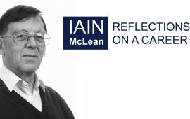 OxPol Special Series - Iain McLean: Reflections on a Career