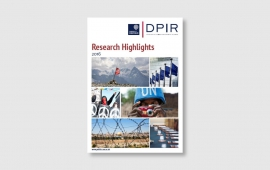 DPIR Research Highlights now available