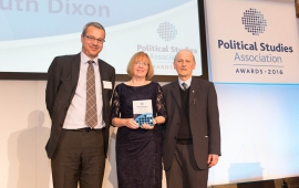 Christopher Hood and Ruth Dixon awarded book prize at PSA awards