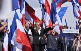 Stephen Fisher comments on Marine Le Pen's lead in the polls
