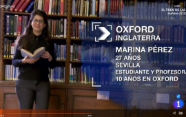 Marina Pérez de Arcos on Oxford and student life