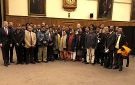 Delegation from the Indian Ministry of Defence at the DPIR