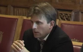 Lucas Kello gives evidence on 'Cyber Revolution'  to House of Lords Committee