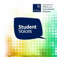 student voices magazine